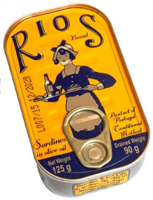 Sardinen in Olivenöl- Rios