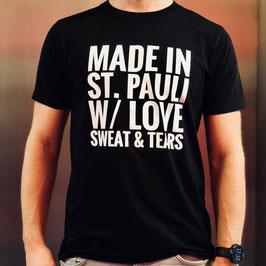 Mens Shirt, schwarz