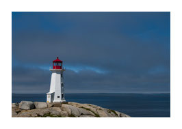Peggy´s Cove Lighthouse, Nova Scotia Canada - Fine Art Print