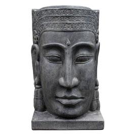 Khmer-Kopf Wasser 130cm, Faserzement