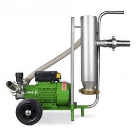 Teichsauger 5000l/h mit integriertem Steinabscheider