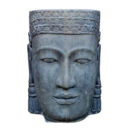 Khmer-Kopf Wasser 85cm, Faserzement