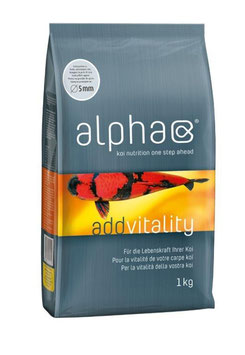 Koi-Ergänzungsfutter alpha add vitality