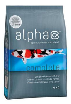 Koi-Komplettfutter alpha complete