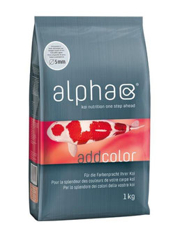 Koi-Ergänzungsfutter alpha add color