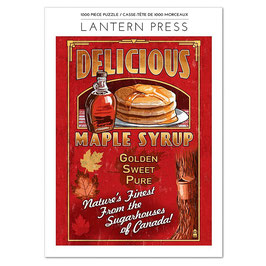 Maple Syrup 1000 Piece Puzzle
