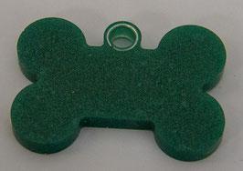 Penning donker groen