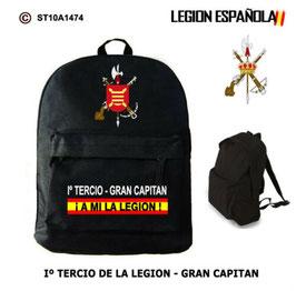 MOCHILAS LEGION ESPAÑOLA: Iº TERCIO - GRAN CAPITAN