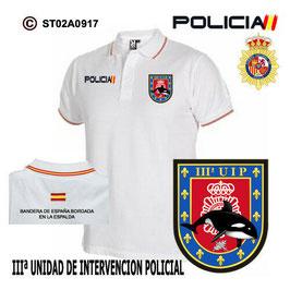 POLOS POLICIA NACIONAL: CNP - UIP / IIIª UNIDAD DE INTERVENCION POLICIAL