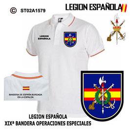 POLO LEGION ESPAÑOLA : XIXª BANDERA - OPERACIONES ESPECIALES