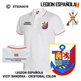 POLO LEGION ESPAÑOLA : VIIIª BANDERA - CRISTOBAL COLON