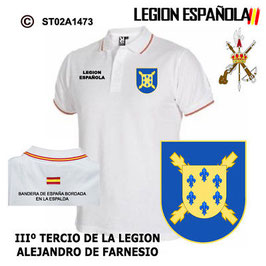 POLO LEGION ESPAÑOLA : IIIIº TERCIO - ALEJANDRO FARNESIO
