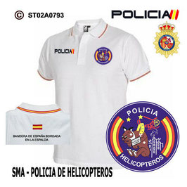 POLOS POLICIA NACIONAL: CNP - SMA / POLICIA DE HELICOPTEROS