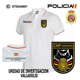 POLOS POLICIA NACIONAL: CNP - POLICIA JUDICIAL - UNIDAD DE INVESTIGACION