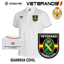 POLOS CUERPOS DE SEGURIDAD: VETERANOS - GUARDIA CIVIL M1