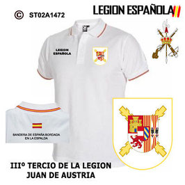 POLO LEGION ESPAÑOLA : IIIº TERCIO - JUAN DE AUSTRIA