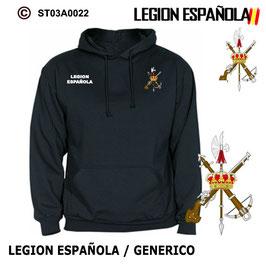 Sudadera Legion Generica Emblema