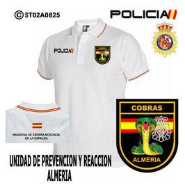 POLOS POLICIA NACIONAL: CNP - GOR / GRUPO OPERATIVO DE RESPUESTA / ALMERIA