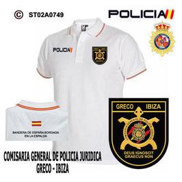 POLOS POLICIA NACIONAL: CNP - GRECO / COMISARIA GENERAL POLICIA CIENTIFICA