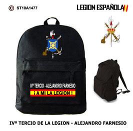 MOCHILAS LEGION ESPAÑOLA: IVº TERCIO - ALEJANDRO FARNESIO