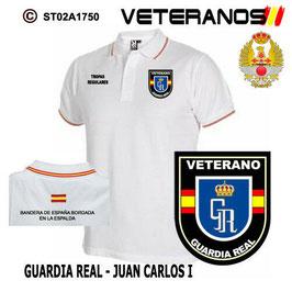 POLOS FUERZAS ARMADAS ESPAÑOLAS: VETERANOS - GUARDIA REAL / JUAN CARLOS I