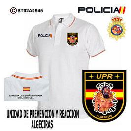 POLOS POLICIA NACIONAL: CNP - UPR / UNIDADES PREVENCION Y REACCION / ALGECIRAS