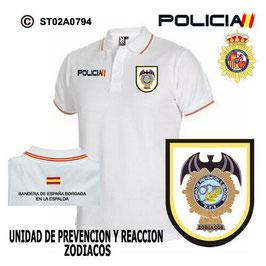 POLOS POLICIA NACIONAL: CNP - UPR / UNIDADES PREVENCION Y REACCION / VALENCIA