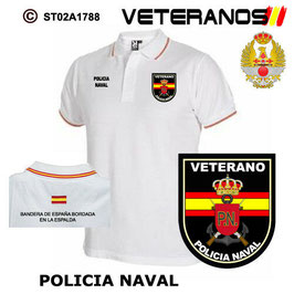 POLOS ARMADA ESPAÑOLA: VETERANOS - POLICIA NAVAL