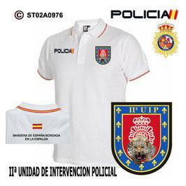 POLOS POLICIA NACIONAL: CNP - UIP / IIª UNIDAD DE INTERVENCION POLICIAL