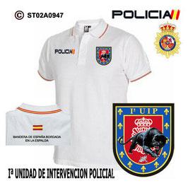 POLOS POLICIA NACIONAL: CNP - UIP / Iª UNIDAD DE INTERVENCION POLICIAL