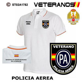 POLOS EJERCITO DEL AIRE: VETERANOS - POLICIA AEREA