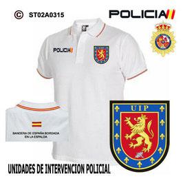 POLOS POLICIA NACIONAL: CNP - UIP / UNIDADES DE INTERVENCION POLICIAL