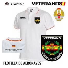 POLO ARMADA ESPAÑOLA: VETERANOS - FLOTILLA DE AERONAVES