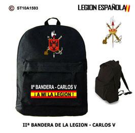 MOCHILAS LEGION ESPAÑOLA: IIª BANDERA - CARLOS V