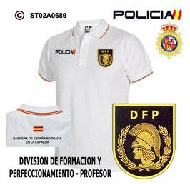 POLOS POLICIA NACIONAL: CNP - DIVISION FORMACION Y PERFECIONAMIENTO / PROFESOR
