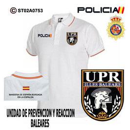 POLOS POLICIA NACIONAL: CNP - UPR / UNIDADES PREVENCION Y REACCION / BALEARES