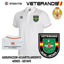 POLOS EJERCITO DEL AIRE: VETERANOS - ACAR / GETAFE