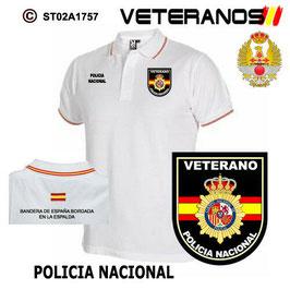 POLOS CUERPOS DE SEGURIDAD: VETERANOS CUERPOS DE SEGURIDAD - POLICIA NACIONAL