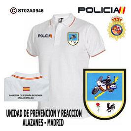 POLOS POLICIA NACIONAL: CNP - UPR / UNIDADES PREVENCION Y REACCION / MADRID
