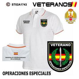 POLOS EJERCITO DE TIERRA: VETERANOS - OPERACIONES ESPECIALES