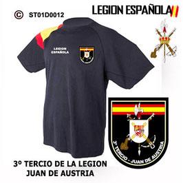 CAMISETAS TECNICAS: LEGION ESPAÑOLA - IIIº TERCIO JUAN DE AUSTRIA M3