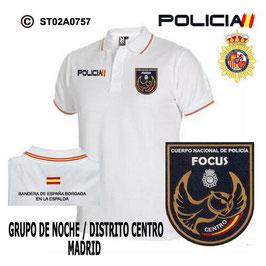 POLOS POLICIA NACIONAL: CNP - GOR / GRUPO OPERATIVO DE RESPUESTA / MADRID