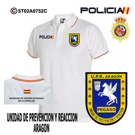 POLOS POLICIA NACIONAL: CNP - UPR / UNIDADES PREVENCION Y REACCION / ARAGON