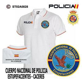 POLOS POLICIA NACIONAL: CNP - UNIDAD DE ESTUPEFACIENTES / CACERES