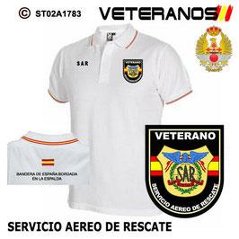 POLOS EJERCITO DEL AIRE: VETERANOS - SERVICIO AEREO DE RESCATE