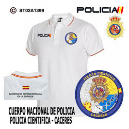 POLOS POLICIA NACIONAL: CNP - UNIDAD DE POLICIA CIENTIFICA