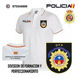 POLOS POLICIA NACIONAL: CNP - DIVISION DE FORMACION Y PERFECIONAMIENTO