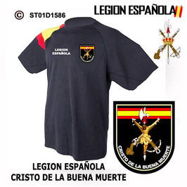 CAMISETAS TECNICAS: LEGION ESPAÑOLA - CRISTO DE LA BUENA MUERTE M3
