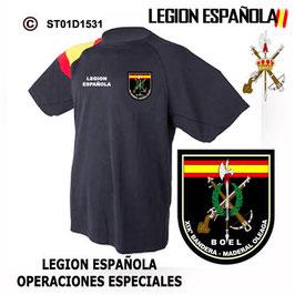 CAMISETAS TECNICAS: LEGION ESPAÑOLA - OPERACIONES ESPECIALES M3