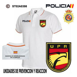 POLOS POLICIA NACIONAL: CNP - UPR / UNIDADES DE PREVENCION Y REACCION